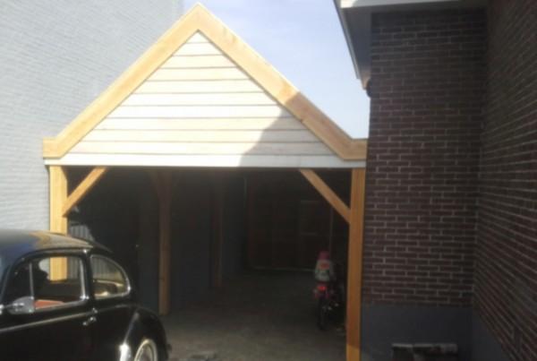 bouwen Lage Zwaluwe, carport